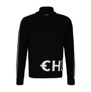 CHIEMSEE Športový sveter  čierna