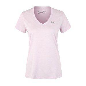 UNDER ARMOUR Funkčné tričko 'Tech'  ružová