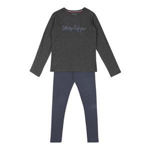 Tommy Hilfiger Underwear Súpravy bielizne 'Signature'  námornícka modrá / svetlosivá
