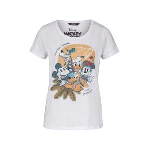PRINCESS GOES HOLLYWOOD Tričko 'Disney true friendship tee'  zmiešané farby / biela