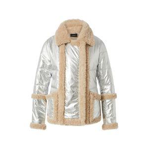 Ibana Prechodná bunda 'Beau'  béžová / sivá