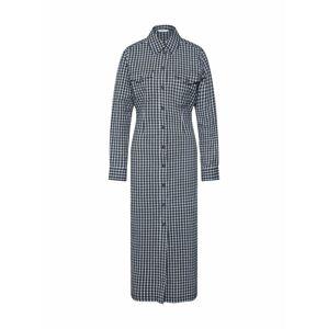 Envii Košeľové šaty 'HAZEL'  čierna / biela