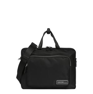 Calvin Klein Taška na notebook 'PRIMARY SLIM LAPTOP BAG'  čierna