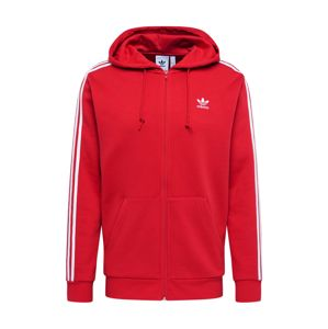 ADIDAS ORIGINALS Sweatjacke '3-STRIPES FZ'  čerešňová