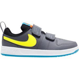 Nike Sportswear Tenisky 'Pico 5'  sivá / žlté