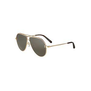 Stella McCartney Slnečné okuliare 'SC0063S 60 METAL'  zelená / zlatá