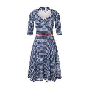 Blutsgeschwister Večerné šaty 'suzie the snake dress'  modré