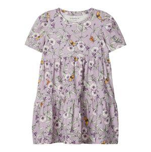 NAME IT Šaty  zmiešané farby / fialová