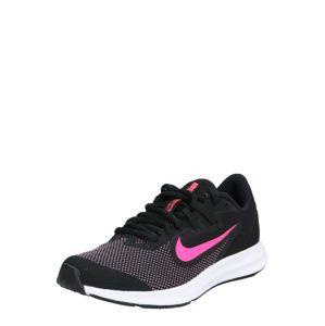 NIKE Športová obuv 'Nike Downshifter 9'  ružová / čierna
