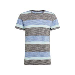 BLEND Tričko 'Tee'  modré / zmiešané farby