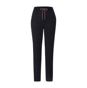 Tommy Jeans Pyžamové nohavice  čierna