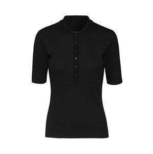 EDITED Tričko 'Demi'  čierna