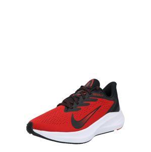 NIKE Bežecká obuv 'Air Zoom Winflo 7'  čierna / červená
