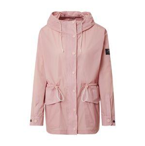 ECOALF Prechodná bunda  ružová