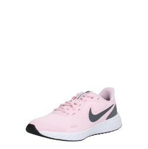 NIKE Športová obuv 'Revolution 5'  antracitová / ružová