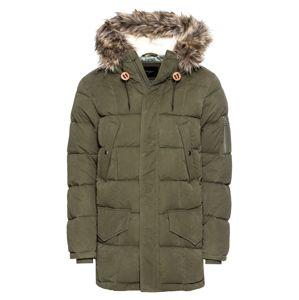Pepe Jeans Zimná bunda 'WOODLANDS'  olivová