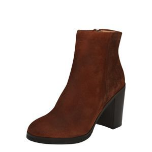 ROYAL REPUBLIQ Ankle Boots 'Bridge Ankle Boot'  hrdzavohnedá