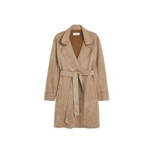 MANGO Prechodný kabát 'Nana'  svetlosivá