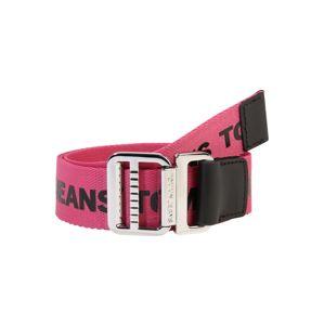 Tommy Jeans Opasky 'Webbing Belt 3.5'  čierna / ružová