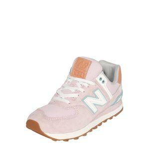 new balance Nízke tenisky  ružová / biela / svetlomodrá