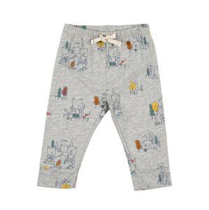 GAP Pyžamové nohavice  svetlosivá / zmiešané farby