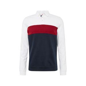 Pier One Tričko  tmavomodrá / červené / biela