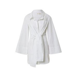 LeGer by Lena Gercke Košeľové šaty 'Kate'  biela