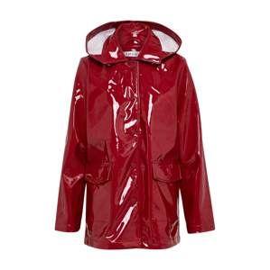 EDITED Prechodný kabát 'Rika'  rubínová