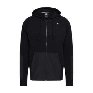 Nike Sportswear Tepláková bunda  antracitová / čierna