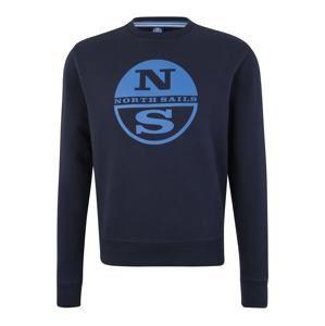 North Sails Športová mikina  modré / tmavomodrá