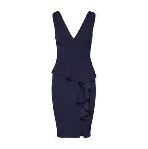 WAL G. Kokteilové šaty 'WG 8217'  námornícka modrá