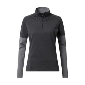 ADIDAS PERFORMANCE Funkčné tričko  sivá melírovaná / tmavosivá