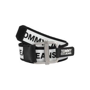 Tommy Jeans Opasky  čierna / biela
