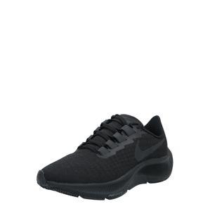 NIKE Bežecká obuv 'Air Zoom Pegasus 37'  čierna / tmavosivá