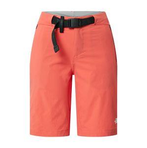 THE NORTH FACE Športové nohavice  jasne červená / čierna