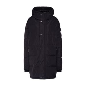 DKNY Mantel 'HOODED CITY PUFFER PARKA'  čierna