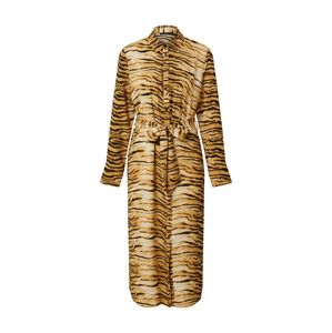 Rut & Circle Košeľové šaty 'SOFI'  hnedá