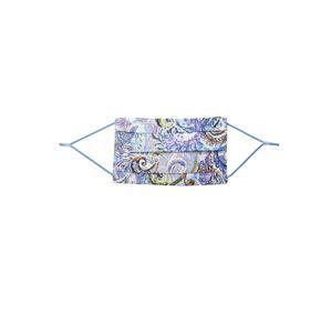 CODELLO Látkové rúško 'COVER UP PAISLEY'  modrá / zmiešané farby