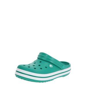 Crocs Clogs 'Crocband'  biela / tmavozelená