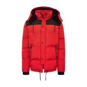 Tigha Zimná bunda 'Kobie'  červené / čierna