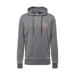 JACK & JONES Mikina 'CRAZY SWEAT HOOD'  tmavosivá