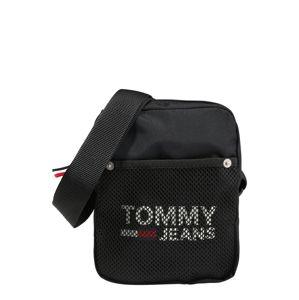 Tommy Jeans Taška cez rameno 'TJM COOL CITY MINI REPORTER'  čierna