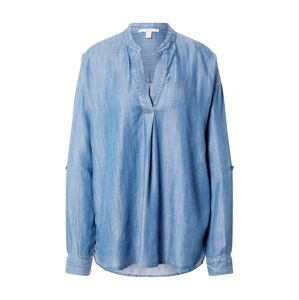 ESPRIT Tunika 'Blouse denim'  modrá denim