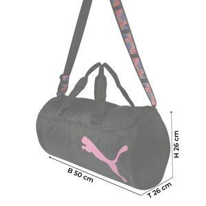 PUMA Sporttasche  čierna / ružová