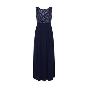 Mela London Večerné šaty 'SEQUIN DETAILED MAXI DRESS'  námornícka modrá