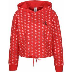 Calvin Klein Underwear Tričká na spanie 'Lounge'  svetločervená