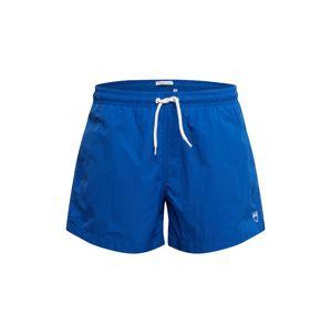 KnowledgeCotton Apparel Plavecké šortky 'BAY'  kráľovská modrá