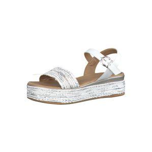 MARCO TOZZI Remienkové sandále  biela