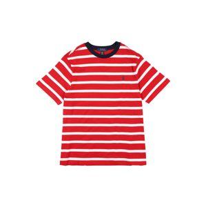 POLO RALPH LAUREN Tričko  červená / biela / čierna