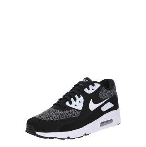 Nike Sportswear Nízke tenisky 'Air Max 90 Ultra 2.0 Essential'  striebornošedá / čierna